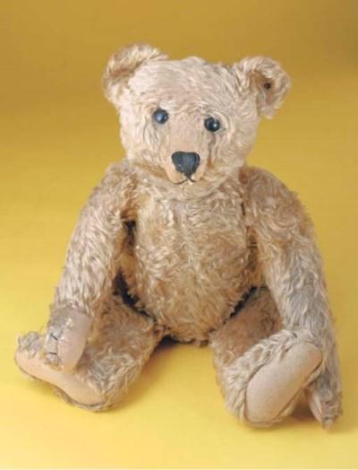 'Edward Bear', a Steiff teddy