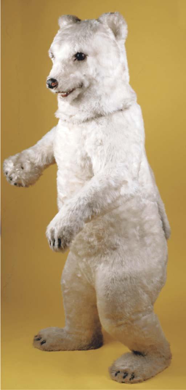 A large electric polar bear di