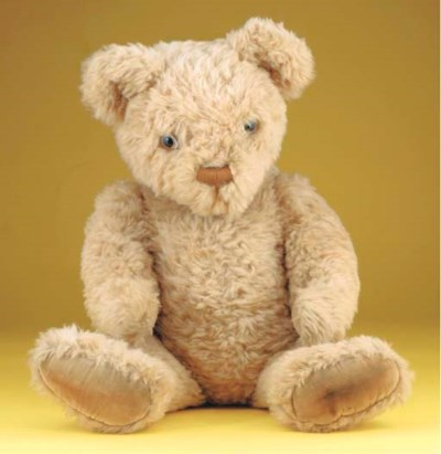 An Invicta teddy bear
