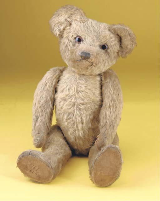 An early British teddy bear