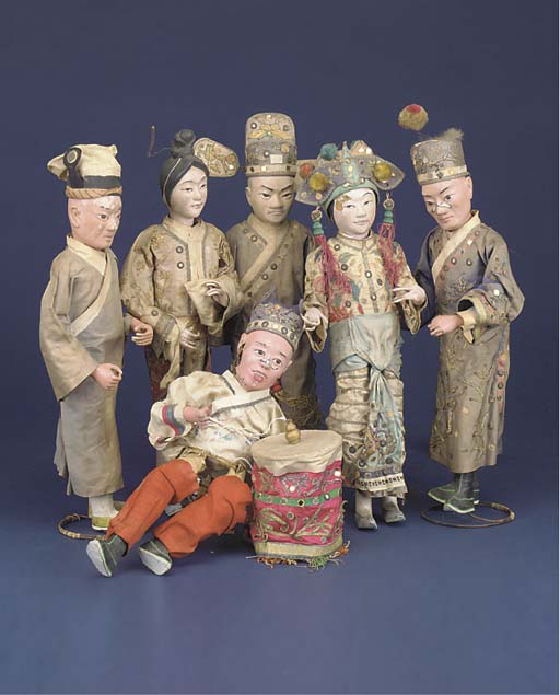 A group of Chinese light papie