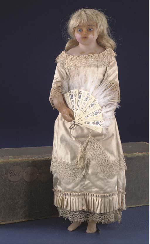 A Meech type poured wax child