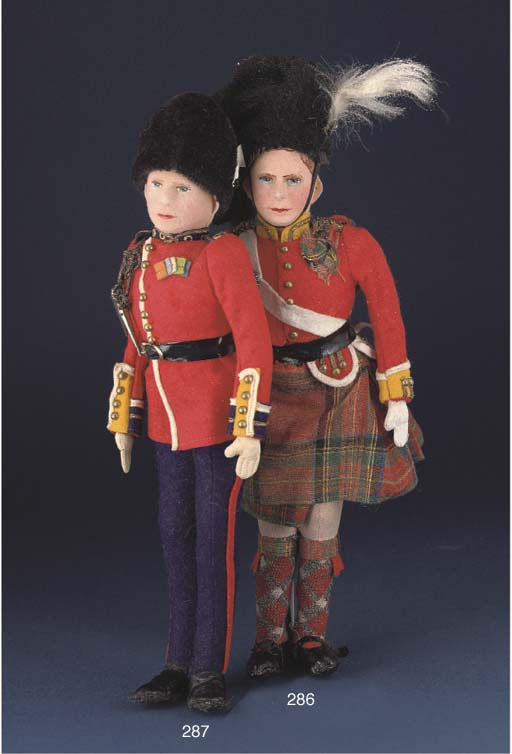 A Farnell Alpha Toys George VI