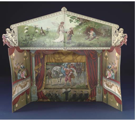 A German musical toy theatre O