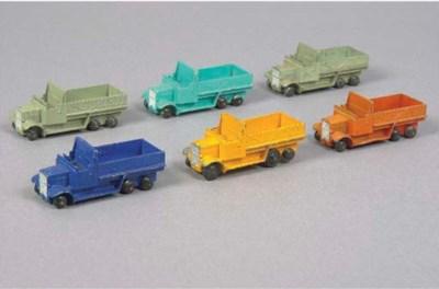 Dinky 25s Six-Wheel Wagons