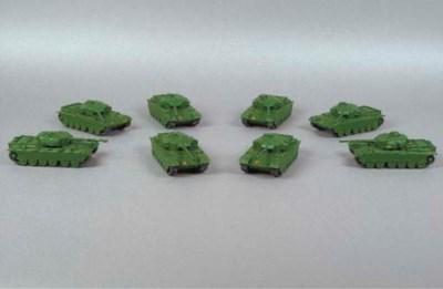 Dinky 651 Centurion Tanks