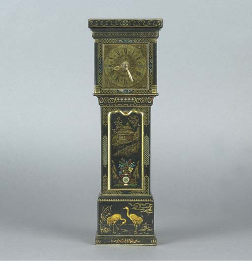 A Huntley & Palmers 'Grandfather Clock' Biscuit Tin