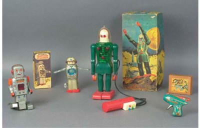 Japanese and German Space Toys