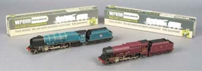 Wrenn Locomotive and Tenders