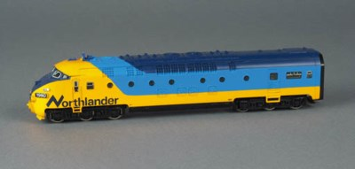 A  Märklin 3150 yellow and blu