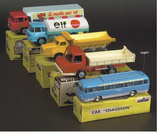 Solido Commercials, 1960s