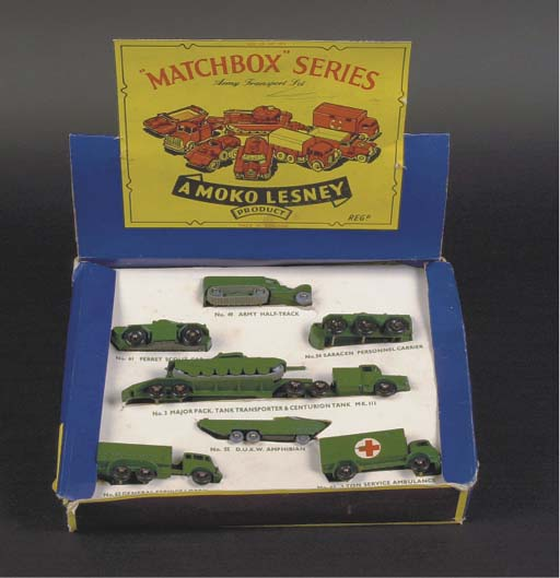 Matchbox 1-75 Series,  late 19
