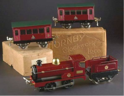 Hornby Series clockwork Locomo