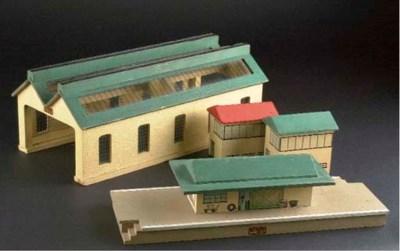 Pre-war Hornby-Dublo Accessori