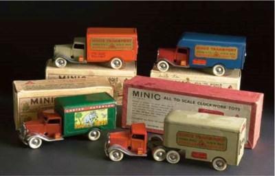Triang Minic pre-war Lorry Bon