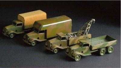 Triang Minic pre-war Camouflag