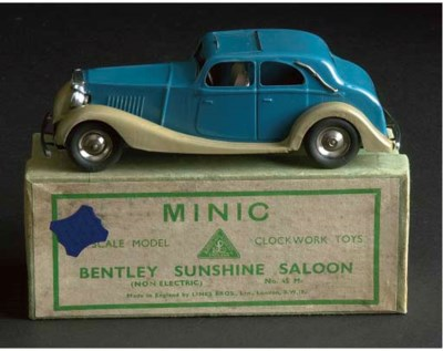 A Triang Minic pre-war 47M blu