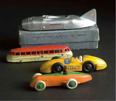 Pre-war Dinky Speed Vehicles