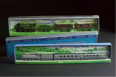 Pre-war Dinky Train Sets
