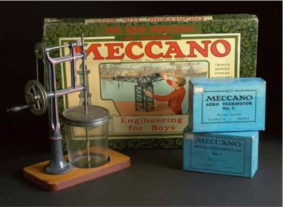 Pre-war Meccano  Outfit and Ac