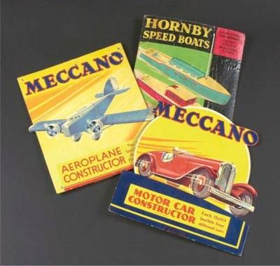 Meccano colour Retail Display
