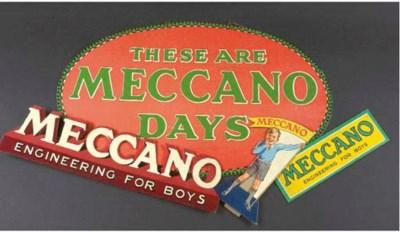 Meccano Retail Display Cards