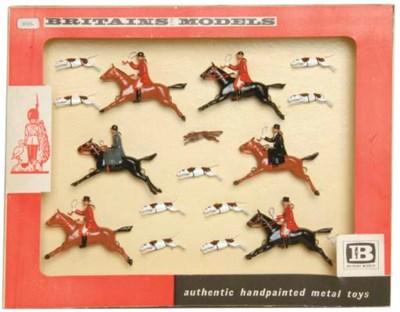 A Britains Set No. 9656 Hunt S
