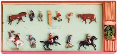 A Britains Rodeo Set No. 2043