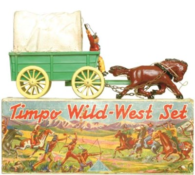 A Timpo Covered Wagon