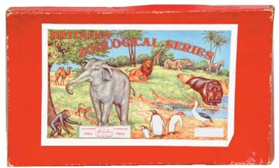 A Britains Model Zoo Series Se