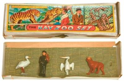A Taylor & Barrett Zoo Keeper