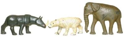 Rare Phillip Segal Zoo Animals