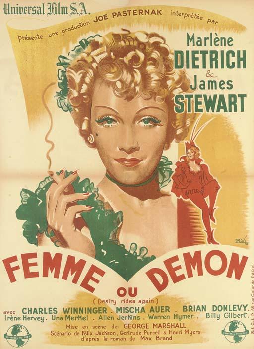 Destry Rides Again/Femme Ou De