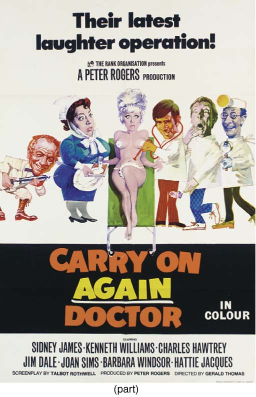 Carry On Films - 1958 - 1992