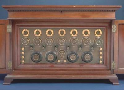 A rare 7-valve wireless receiv