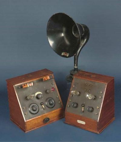 A Fellophone Super Two 2-valve