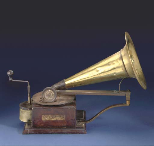 A travelling arm gramophone,