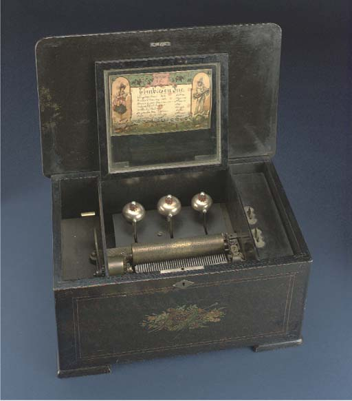 An musical box playing eight airs