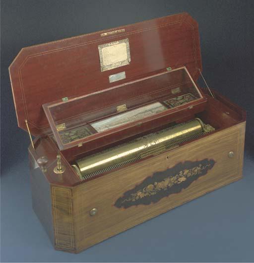 A Nicole Freres organ musical box