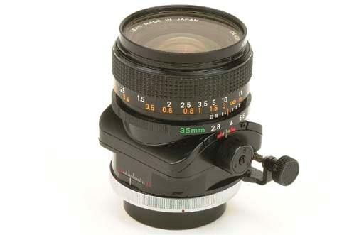 Canon TS 35mm. f/2.8 no. 12730