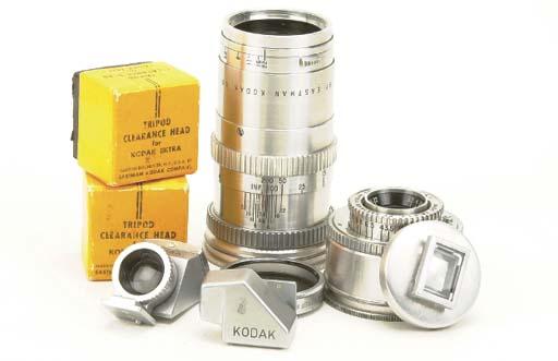 Kodak Ektra lenses and accesso