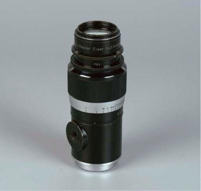 Elmar f/4.5 135mm. un-numbered