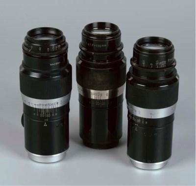 Hektor 13.5cm. f/4.5 lenses