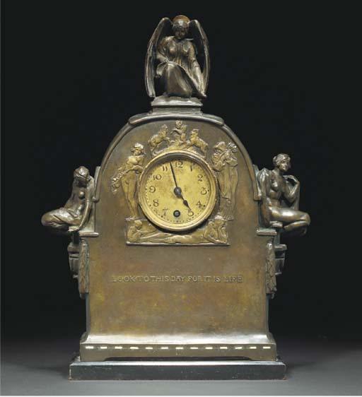GILBERT BAYES; MANTLE CLOCK
