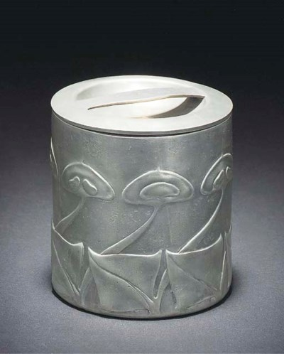 ARCHIBALD KNOX; POT AND COVER