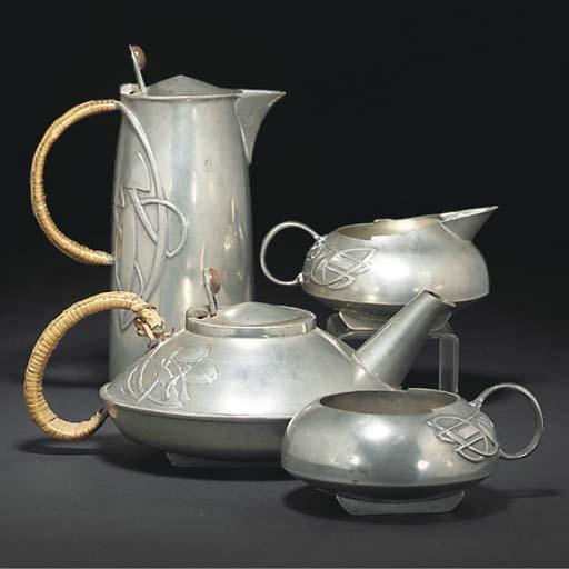ARCHIBALD KNOX; TEA SERVICE
