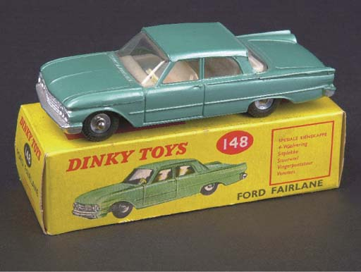 Dinky 148 Ford Fairlanes
