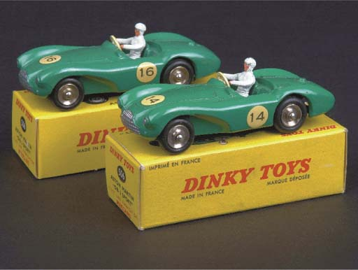 Dinky French Factory green 506
