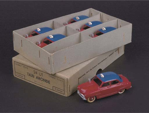 A Dinky French Factory Half-Do