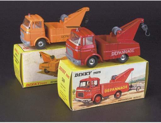 Dinky French Factory Breakdown